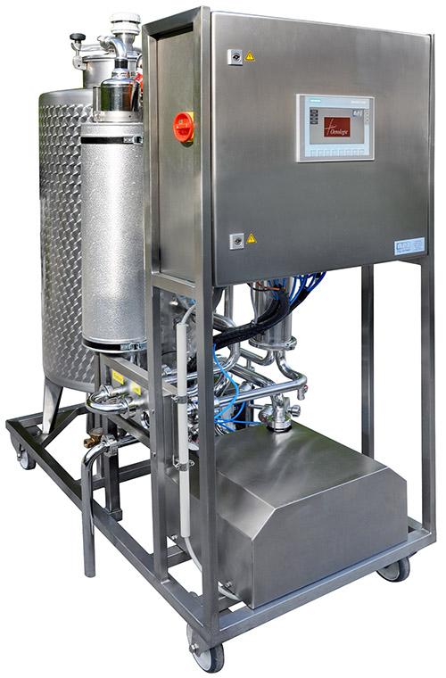 L'unité de nettoyage en place automatique 'CIP-APS 200'