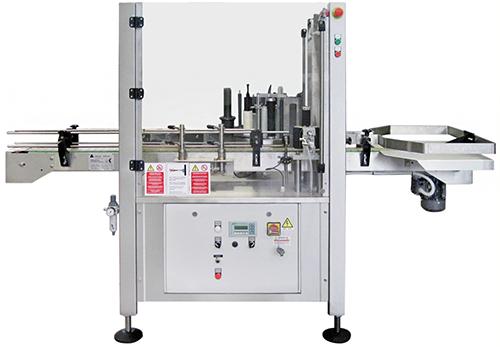 L'étiqueteuse adhésive linéaire automatique modèle 'LE1/11-1S'